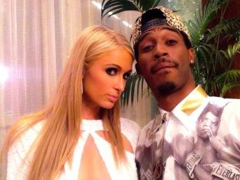 Taron and Paris Hilton