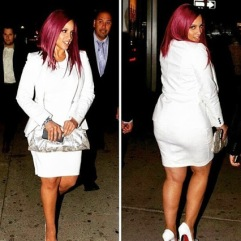 Here is Dascha Polanco carrying the