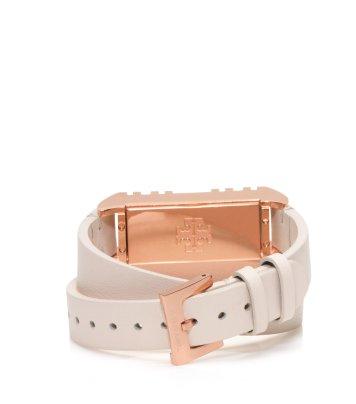 Tory-Burch-Fitbit-Fret-Double-Wrap-Bracelet-Light-OakRose